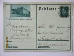 D.Reich Bildganzsache Schlesien Landeck 1930 Aus Beuthen (54613) - Allemagne