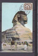 EGYPTE CARTE MAXIMUM SPHINX - Egypte