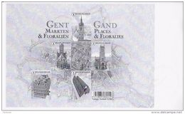 Promotie Van De Filatelie Gent Markten Zwart-wit Blaadje - Zwarte/witte Blaadjes