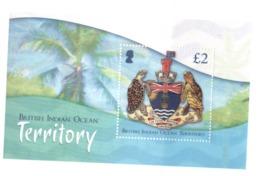 DA5 BIOT British Indian Ocean Territory 2014** / Coat Of Arms Territoire Britannique Armoiries - Britisches Territorium Im Indischen Ozean
