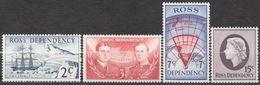 ROSS DEPENDENCY 1967 4 TP Expédition NZ Transantarctique N° 5 à 8 Y&T Neuf ** Mnh - Ross Dependency (New Zealand)
