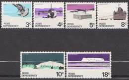 ROSS DEPENDENCY 1979 6 TP Série Courante White Paper N° 9a à 14a Y&T Neuf ** Mnh - Ross Dependency (New Zealand)