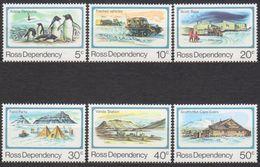 ROSS DEPENDENCY 1982 6 TP 25 ème Anniversaire Base Scott N° 15 à 20 Y&T Neuf ** Mnh - Ross Dependency (New Zealand)