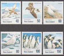 ROSS DEPENDENCY 1990 6 TP Oiseaux NZ N° 1088 à 1093 Y&T Neuf ** Mnh - Ross Dependency (New Zealand)
