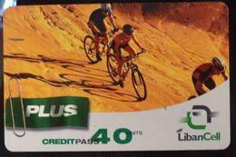 Lebanon 40 Units LibanCell Cycling - Libano