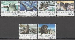 ROSS DEPENDENCY 1992 6 TP Animaux Marins NZ N° 1168 à 1173 Y&T Neuf ** Mnh - Ross Dependency (New Zealand)