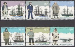 ROSS DEPENDENCY 1995 6 TP Explorers N° 38 à 43 Y&T Neuf ** Mnh - Ross Dependency (New Zealand)
