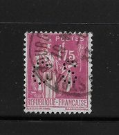 Perfore , Perfin France   Paix  289  ,  Perfo  CS  ,  Costimex  Strasbourg - France