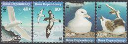 ROSS DEPENDENCY 1997 4 TP WWF Sea Birds N° 56 à 59 Y&T Neuf ** Mnh - Ross Dependency (New Zealand)