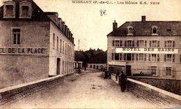 [62] Pas De Calais > Wissant HOTEL DES BAINS   RARE  /////  14 / LIQUIDE BOUTIQUE  CP MOINS DE 1 EURE - Wissant