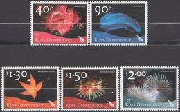 ROSS DEPENDENCY 2003 5 TP Marine Life N° 90 à 94 Y&T Neuf ** Mnh - Ongebruikt