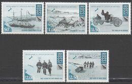 ROSS DEPENDENCY 2008 5 TP British Antarctic Expedition 1907-1909 Neuf ** Mnh - Ungebraucht