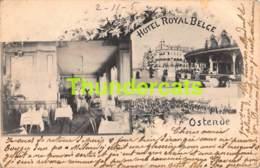 CPA OOSTENDE OSTENDE HOTEL ROYAL BELGE  ( PLOOITJES HOEKEN ) - Oostende