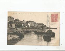 LE PELLERIN LA CALE AUX FOINS DE L'EMBARCADERE 1904 - Basse-Indre