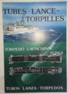 PLAQUETTE C.1980 - TUBES LANCE TORPILLES - K68A - K67A - K66A - GETDL - DTCN - MILITAIRE - Libri, Riviste & Cataloghi
