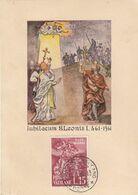 """9912-MAXIMUM - 15 L. """"S.LEONE FERMA ATTILA"""" - 1961 - Maximum Cards"""
