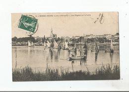 BASSE INDRE (LOIRE INFERIEURE)  8 LES REGATES SUR LA LOIRE 1909 - Basse-Indre