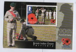 DA5 BIOT British Indian Ocean Territory **  2011 Royal British Legion/ Territoire Britannique Indien Legion - Britisches Territorium Im Indischen Ozean