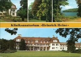 Ansichtskarte Neu Fahrland-Potsdam Kliniksanatorium H. Heine Mehrbild G1989 - Neu Fahrland