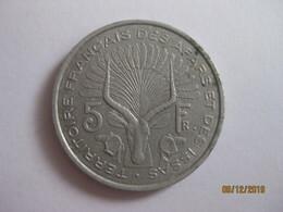 Djibouti: TFAI 5 Francs FDj 1975 - Djibouti