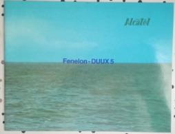 BROCHURE 1980 - FENELON DUUX 5 - ALCATEL - SINTRA - SOUS MARIN - MILITAIRE - Libri, Riviste & Cataloghi
