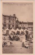 """Ca - Cpa SABLES D'OLONNE - Hôtel Pension De Famille """"Les Charmettes"""" - Quai Clemenceau Sur La Plage - Sables D'Olonne"""