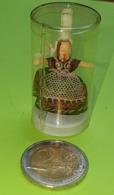 Ancienne Miniature POUPÉE - Publicité GALETTES ST MICHEL - Etat D'usage , Jamais Ouverte - Années 1960 - Other