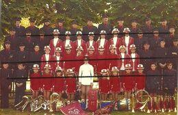 18 - AUBIGNY SUR NERE - PHOTO DES MAJORETTES - Musique Et Musiciens