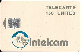 CARTE PUCE--CAMEROUN-SC7-150U-INTELCAM-R+ Saumon -V°N° Rge-00943273-Utilisé -TBE-RARE - Camerún