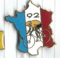 Tour De France 92 Coureur Maillot Jaune Carte France Signé Fraisse - Ciclismo