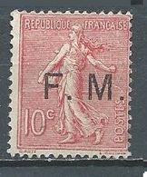 France Franchise Militaire YT N°4 Semeuse Lignée Oblitéré ° - Militärpostmarken