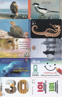 17 Télécartes UAE Lot2 - Emirati Arabi Uniti