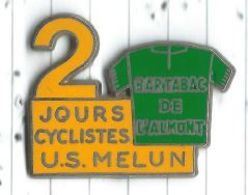 Cyclisme 2 Jours Cyclistes US Melun 77 Sponsor Bar Tabac De L'Almont - Ciclismo