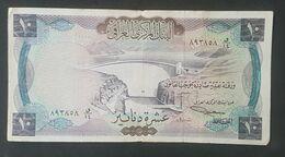 RS - Iraq 10 Dinars Banknote 1971 #o/14 893858 - Irak