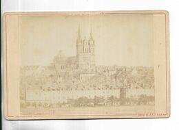 49 -  Photographie Ancienne Sur Support Cartonné épais - ANGERS - La Cathédrale - Lugares