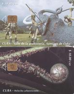 2 Télécartes CUBA Lot1 - Cuba