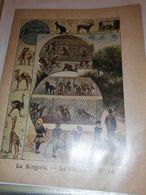 PROTEGE CAHIER ANCIEN JARDIN D ACCLIMATATION LA SINGERIE CHENIL N°14 - Schutzumschläge