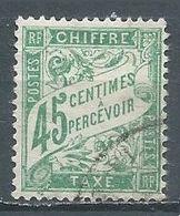 France Timbres-taxe YT N°36 Duval Oblitéré ° - 1859-1955 Used