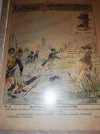 PROTEGE CAHIER ANCIEN LA PATRIE VICTOIRE DE NOS AIEUX N°5 HOONSCHOOTE - Protège-cahiers