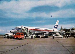AVIATION CIVILE - TOKYO AÉROPORT INTERNATIONAL AIRPORT - AVION QUADRIMOTEUR : MATSU / JAPAN AIR LINES (af129) - 1946-....: Modern Era