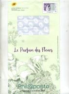 Pap Sabine Catalogue Phil@poste Parfum De Fleurs + Enveloppe Reponse T - Entiers Postaux