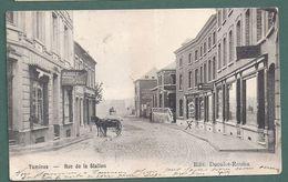 TAMINES -rue De La Station - Attelage - 2 Scans - Sambreville
