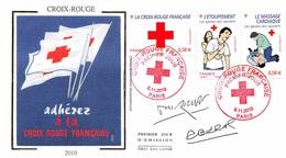 FRANCE. FDC.n°208783. 5/11/2010. Cachet Paris. Croix Rouge - 2010-....