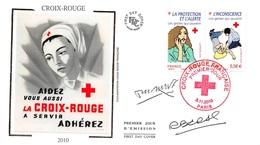 FRANCE. FDC.n°208784. 5/11/2010. Cachet Paris. Croix Rouge - 2010-....
