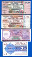 Surinam  10  Billets - Suriname
