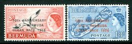 Bermuda 1956 50th Anniversary Of United States-Bermuda Yacht Race Set MNH (SG 154-155) - Bermuda