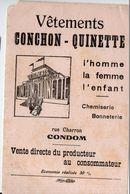 Condom (32 Gers) Buivard CONCHON QUINETTE Vêtements (M0415) - Produits Pharmaceutiques