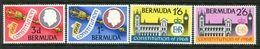 Bermuda 1968 New Constitution Set MNH (SG 216-219) - Bermuda