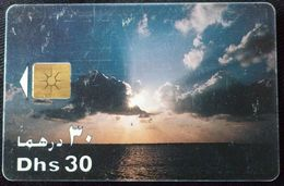UNITED ARAB EMIRATES - 30 Dhs Etisalat Clouds Sky - Emirati Arabi Uniti