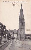 AUXERRE LA TOUR ET L'EGLISE ST GERMAIN (dil467) - Auxerre